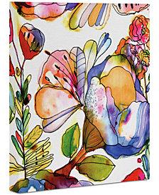 "Deny Designs CayenaBlanca Blossom Pastel Art Canvas 8x10"""