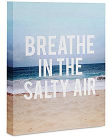 """Deny Designs Leah Flores Breathe Art Canvas 8x10"""""""