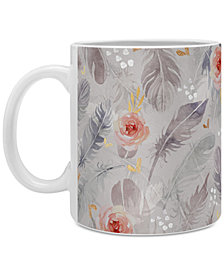 Deny Designs Marta Barragan Camarasa Abstract Floral Coffee Mug