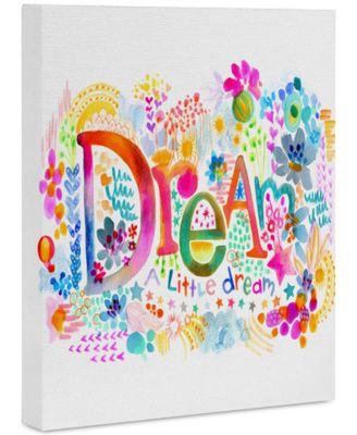 """Stephanie Corfee Dream A Little Art Canvas 8x10"""""""