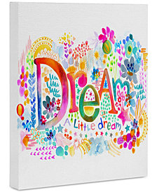 "Deny Designs Stephanie Corfee Dream A Little Art Canvas 16x20"""
