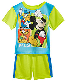 Disney's® Mickey Mouse, Donald Duck, & Pluto 2-Pc. Pajama Set, Toddler Boys