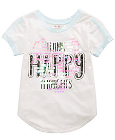 Kandy Kiss Sequined Graphic-Print T-Shirt, Big Girls