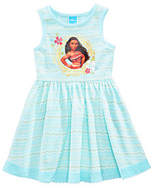 Disney's® Moana Geo-Print Dress, Little Girls