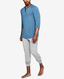 Under Armour Men's Athletic Recovery Henley Top