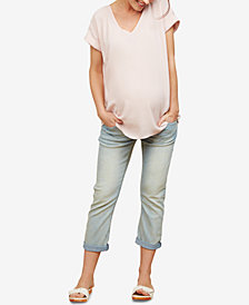 Motherhood Maternity Cropped Skinny Jeans