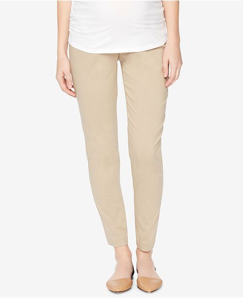 Motherhood Maternity Skinny Ankle Pants