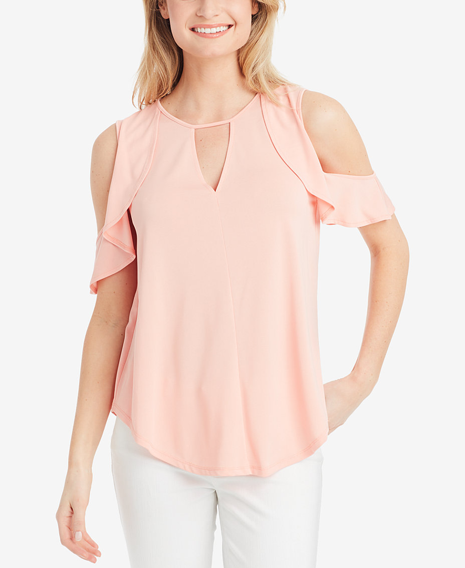 Pink Juniors Tops - Macy\'s