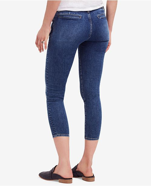 Jeans Skinny People Stratford Cropped Blue Free x6FYqIxz