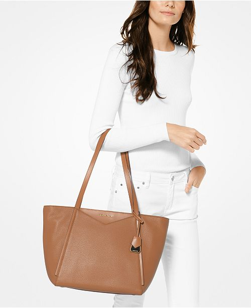 3877ce341db Michael Kors Whitney Large Soft Leather Tote - Handbags ...