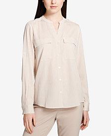 Calvin Klein Band-Collar Shirt