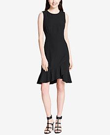 Calvin Klein Sleeveless Flounce-Hem Dress