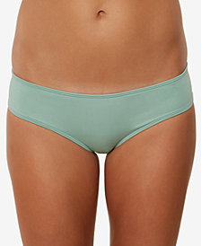 O'Neill Juniors' Salt Water Solids Hipster Bikini Bottoms