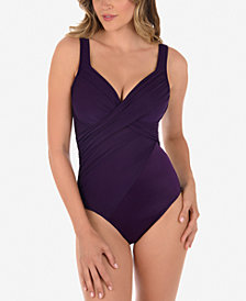Miraclesuit New Revelations Underwire One-Piece Swimsuit