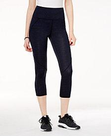 Material Girl Active Juniors' Printed Cropped Yoga Leggings, Created for Macy's