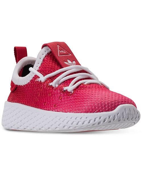 adidas Toddler Boys  Originals Pharrell Williams Tennis HU Casual Sneakers  from Finish Line 7f937b9108