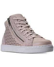 Skechers Women's Prima - Leather Lacers High-Top Casual Sneakers from Finish Line
