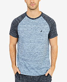 Nautica Men's Space-Dyed Sleep T-Shirt