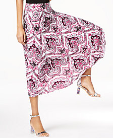 I.N.C. Paisley Maxi Skirt, Created for Macy's