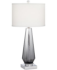 Pacific Coast Charcoal Topaz Table Lamp