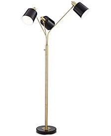 Pacific Coast New York Studio Three-Light Floor Lamp