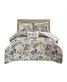 Mi Zone Tamil 4-Pc. King/California King Duvet Set