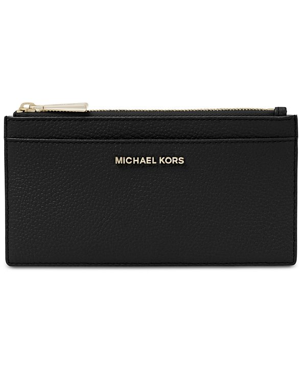 Michael Kors Pebble Leather Slim Card Case