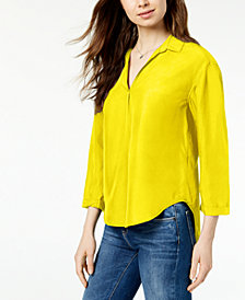 Calvin Klein Jeans Collared Blouse