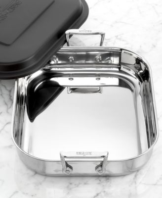 allclad stainless steel covered lasagna pan - Stainless