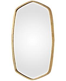 Duronia Antiqued Gold-Finish Mirror