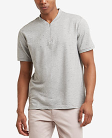Kenneth Cole New York Men's Quarter Zip T-Shirt