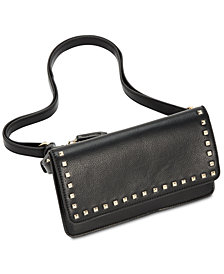I.N.C. Quiin Studded Convertible Fanny Pack, Created for Macy's