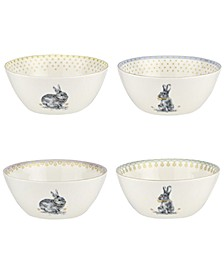 Meadow Lane Cereal Bowls, Set of 4