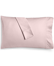 Martha Stewart Collection Solid Open Stock 400 Thread Count Pillowcase, Created for Macy's