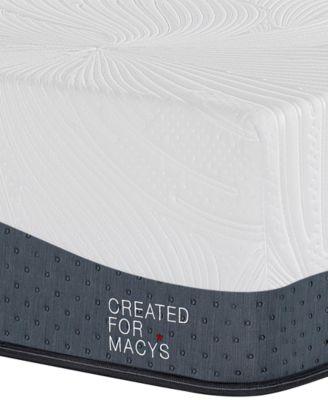 "Hampton 14"" Ultra Plush Memory Foam Mattress - Twin, Created for Macy's"