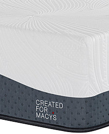 "MacyBed Lux Hampton 14"" Ultra Plush Memory Foam Mattress - California King, Created for Macy's"