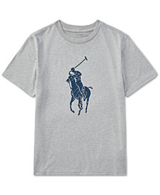 Polo Ralph Lauren Moisture-Wicking Jersey T-Shirt, Big Boys