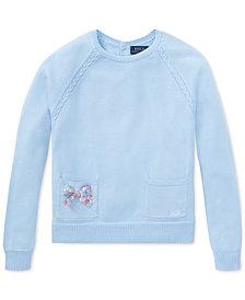 Polo Ralph Lauren Cotton Sweater, Big Girls