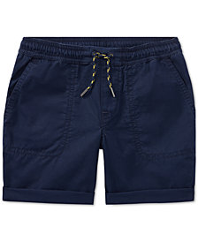 Polo Ralph Lauren Pull-On Cotton Shorts, Little Boys