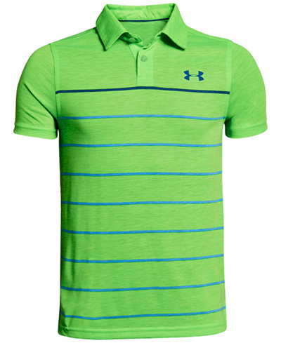 Under Armour Threadborne Bunker Polo, Big Boys