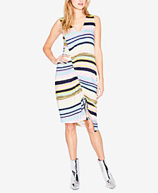 RACHEL Rachel Roy Asymmetrical Drawstring Dress, Created for Macy's