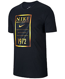 Nike Men's Dry Metallic-Graphic T-Shirt