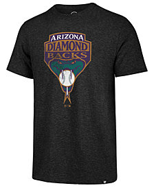 '47 Brand Men's Arizona Diamondbacks Coop Triblend Match T-Shirt