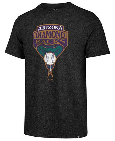 '47 Brand Men's Arizona Diamondbacks Coop Triblend Match T-Shirt