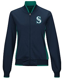 G-III Sports Women's Seattle Mariners Triple Track Jacket