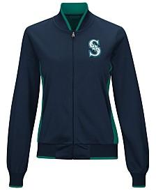 G-III Sports Women's Seattle Mariners Triple Track Jacket