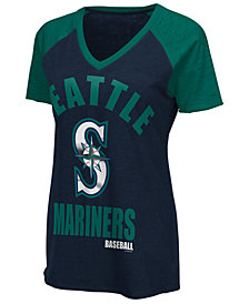 G-III Sports Women's Seattle Mariners Game On T-Shirt