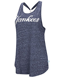 G-III Sports Women's New York Yankees Bleacher Tank