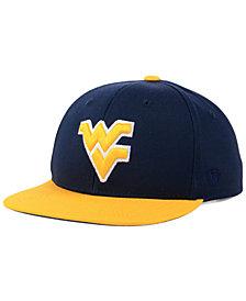 Top of the World Boys' West Virginia Mountaineers Maverick Snapback Cap