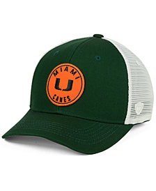 Top of the World Miami Hurricanes Coin Trucker Cap